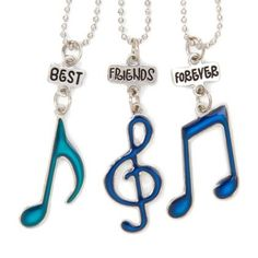 Best+Friends+Forever+Mood+Music+Notes+Pendant+Necklaces claires so cite for me and my friends