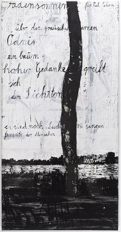 Anselm Kiefer | Fadensonnen – für Paul Celan - Threadsuns – for Paul Celan | 1982–2013 | Privatsammlung | © Anselm Kiefer und Ulrich Ghezzi #AlbertinaKiefer