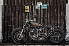 Wrenchmonkees | This brutal 'chopper-racer' is proof that the rather bland CX500 can be transformed into something radical. From the Top 5 Custom Honda CX500's via @Bike EXIF Custom Motorcycles