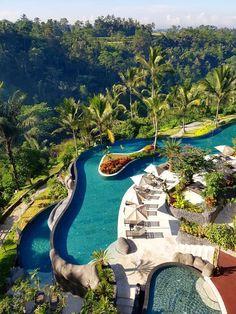 Bali's Longest Infinity Pool at Padma Resort Ubud, bali hotels