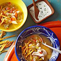 Sopa de Limon (Lime Soup)--use Hatch chiles
