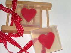 Glycerine Soap - hearts