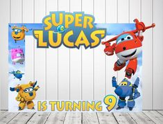 Super Wings Photo Booth, Super Wings Birthday, Birthday Backdrops, Birthday Photo Booths, Super Wing Birthday Frames, Birthday Backdrop, Birthday Photo Booths, Birthday Photos, 4th Birthday Parties, Baby Birthday, Photo Frame Prop, Emoji, First Birthdays