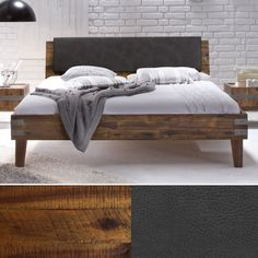 Das Factory Bett Ravo – ein Blickfang für Ihr Schlafzimmer Bed, Furniture, Home Decor, Beds, Mattress, Cuddling, Bed Room, Decoration Home, Stream Bed