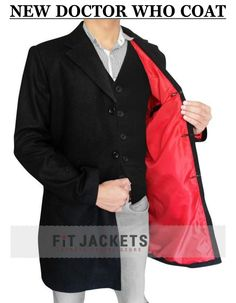 Doctor Who Coat is proudly presented by fitjackets. Get this amazing Peter Capaldia Coat With  free shipping worldwide!!  #DoctorWho #MensCoat #Celebrity #Fashion #geek #cheezburger #geektyrant #geekcheezburger #Shopping #Sexy #Hot #Stylish #MensOutfit #MensWear #Sale #MensFashion