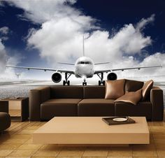 Wall MURAL, Photo Wall Decal, Self-Adhesive Vinyl Wallpaper Prepare For Take Off