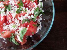 Summer watermelon salad...yes please