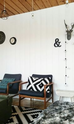 My livingroom Livingroom, 50's, deerhead, home, interior design, ikea