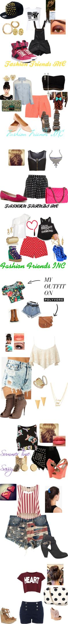 """We Love Shorts"" by fashionfriendsinc-1 on Polyvore"