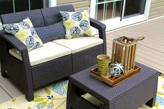 From Drab to Fab! {Deck Makeover}
