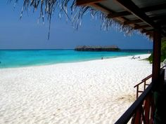 WHITE: Angaga Island, Maldives : A Beach of a Different Color : TravelChannel.com