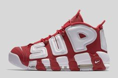 newest collection 2ed56 8db45 Nike Air More Uptempo Red White Air Force 1, Nike Air Force, Adidas Campus