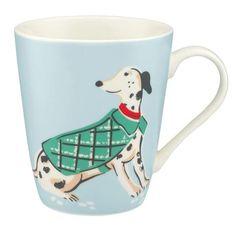 Cath Kidston Dogs blue Stanley mug