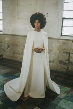 Solo's wedding dress
