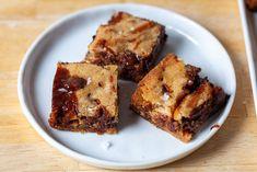 salted caramel pretzel blondies – smitten kitchen