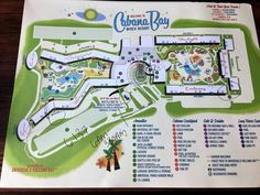 Map from front desk