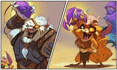 League of Legends - playtime with Gnar