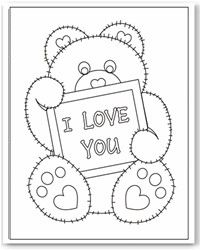 Free Valentine coloring pages - Valentine's Day coloring sheets - printable activities for kids Kinder Valentines, Valentines Day Activities, Valentine Day Crafts, Printable Valentine, Homemade Valentines, Valentine Box, Valentine Wreath, Valentine Ideas, Coloring For Kids