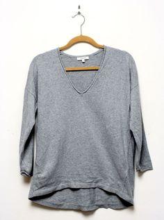 Madewell Deckhouse Gray Sweater Size Medium #Madewell #Crewneck