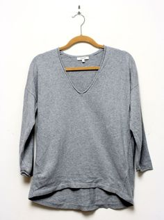 Madewell Deckhouse Gray Sweater Size Medium #Madewell #Crewneck