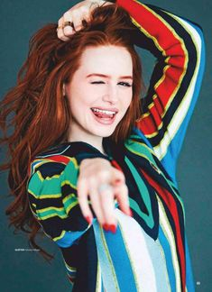 Madelaine Petsch for Seventeen Cheryl Blossom Riverdale, Riverdale Cheryl, Riverdale Cast, Madelaine Petsch, Pretty People, Beautiful People, Camila Mendes Riverdale, Film Serie, Celebs