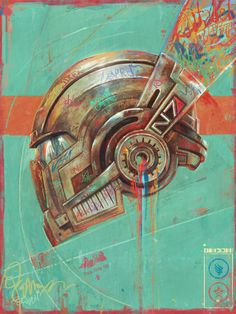 Mass Effect: Commander Shepard's N7 Helmet by Sam Spratt