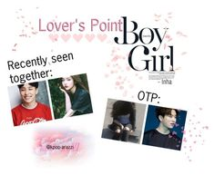 """Lover's Point: Taesong & Suyeon and Youngjae & Yeonin"" by kpop-arazzi ❤ liked on Polyvore featuring art"