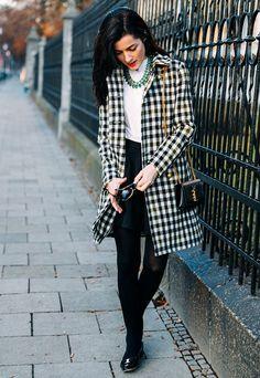 Checkered in Munich | Classy Girls Wear Pearls | Bloglovin'