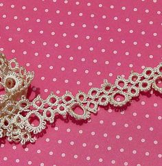 Vintage Lace Trim Tatted Lace Tatting Circles by dishyvintage, $3.50