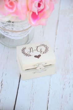Boho chic ring bearer box by BellaBrideCreations on Etsy