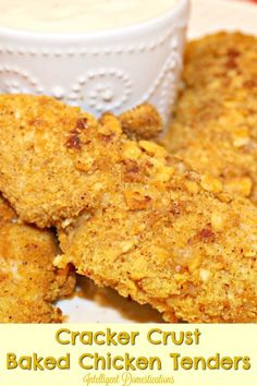 You can use any crackers you happen to have in your panty. We used Cheeze-It cracklers to make our Crusted Baked Chicken Tenders recipe. Quick and easy chicken tenders recipe. Turkey Recipes, Lunch Recipes, Fall Recipes, Ramen Recipes, Cod Recipes, Carrot Recipes, Spinach Recipes, Fudge Recipes, Bean Recipes