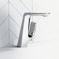 Kludi AMEO single lever basin mixer without pop-up waste set