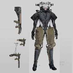 ArtStation - Robot Concept, Jeffery Chang