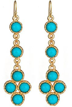 Lisa Stewart Palm Beach Reversible Dangle Earrings