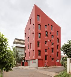 Gallery of Stacked Student Housing / Thirdspace Architecture Studio - 1