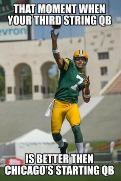 Every player on the Packers is better than any player of the Bears.