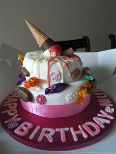 I made mum a cake of her favourites 💖
