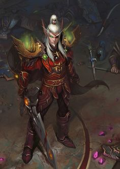 Lor'themar Theron Regent Lord of Silvermoon. This dude is a badass.