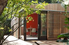 BLOOT architecture: garden pavilion