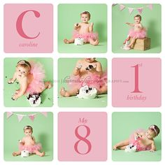 we WILL do something like this for Makaya's first birthday...
