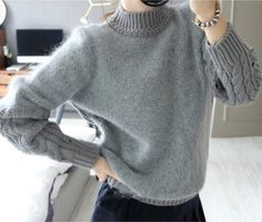 #aliexpress, #fashion, #outfit, #apparel, #shoes #aliexpress, #autumn, #winter, #sweater, #women, #fashion, #sweaters, #loose, #sleeve, #solid, #sweaters