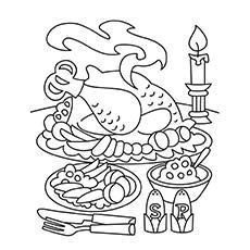 Thanksgiving Food Coloring Page | WORD SEARCH | Pinterest ...