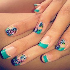 Decorado de u as delicado manicura y decoraci n pinterest - Modelos de unas pintadas ...