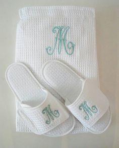Wraps mas pantuflas de pique personalizadas.