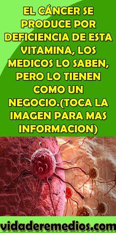 EL CÁNCER SE PRODUCE POR DEFICIENCIA DE ESTA VITAMINA, LOS MEDICOS LO SABEN, PERO LO TIENEN COMO UN NEGOCIO.(TOCA LA IMAGEN PARA MAS INFORMACION) #CÁNCER #VITAMINA #MEDICOS #CONSEJOS #BIENESTAR #SALUD #CURAS