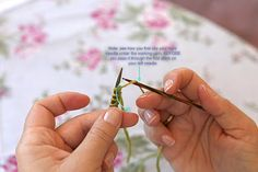Heidi Bears: How to knit: Tutorial 2, Purl Stitch