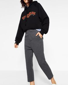 Image 1 of RELAX FIT TROUSERS from Zara