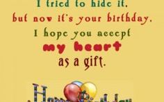 Love Quotes And Sayings For Her Birthday