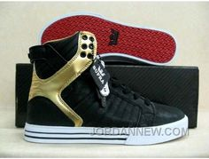 http://www.jordannew.com/supra-chad-muska-skytop-black-suede-gold-red-authentic.html SUPRA CHAD MUSKA SKYTOP BLACK SUEDE GOLD RED AUTHENTIC Only $58.97 , Free Shipping!