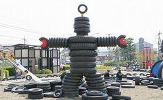Weird or Interesting??: Kawasaki Tyre Park